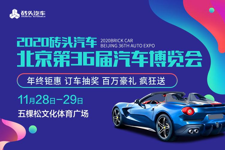 2020砖头汽车北京第36届汽车博览会